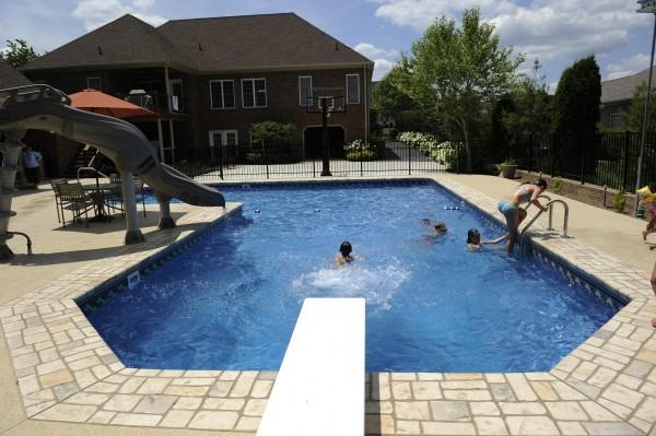 Talbott Pool House and Pool
