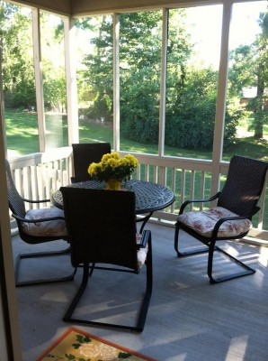 Fisher Screened In Porch